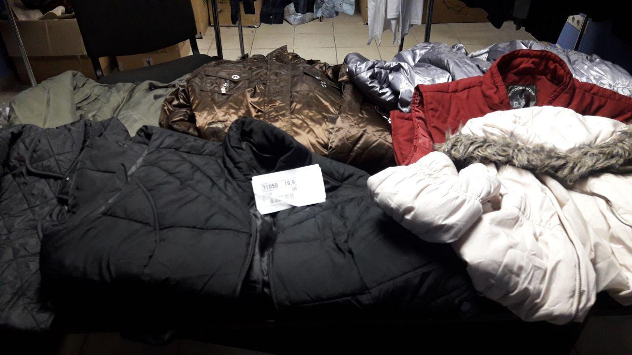 Оптовий продаж зимового верхнього одягу секонд-хенд!